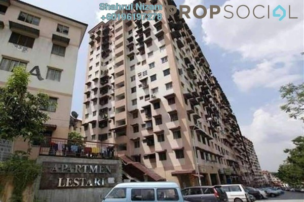 Apartment For Sale in Lestari Apartment, Damansara Damai Freehold Semi Furnished 3R/2B 145k