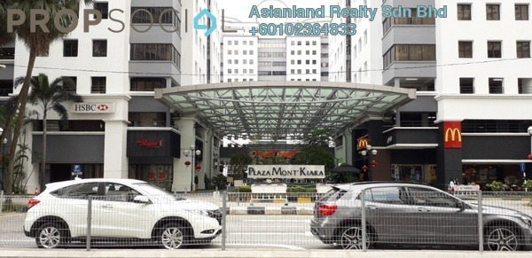 Office For Sale in Plaza Mont Kiara, Mont Kiara Freehold Semi Furnished 0R/0B 2.5m