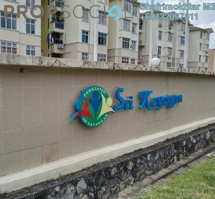 Apartment For Sale in Sri Kayangan Apartment, Ukay Freehold Fully Furnished 3R/2B 260k