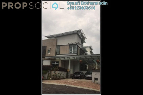 Villa For Sale in Taman Glenmarie, Saujana Freehold Fully Furnished 6R/4B 4.6m