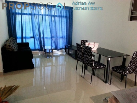 Condominium For Sale in Amaya Maluri, Cheras Freehold Semi Furnished 2R/2B 498k