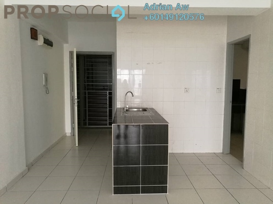 Condominium For Rent in Axis Residence, Pandan Indah Freehold Semi Furnished 2R/2B 1.5k