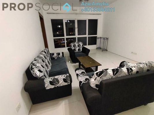 Condominium For Rent in Titiwangsa Sentral, Titiwangsa Freehold Fully Furnished 3R/2B 1.8k