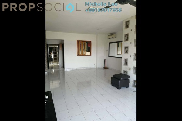 Condominium For Sale in Dwi Mahkota, Johor Bahru Leasehold Semi Furnished 3R/2B 285k