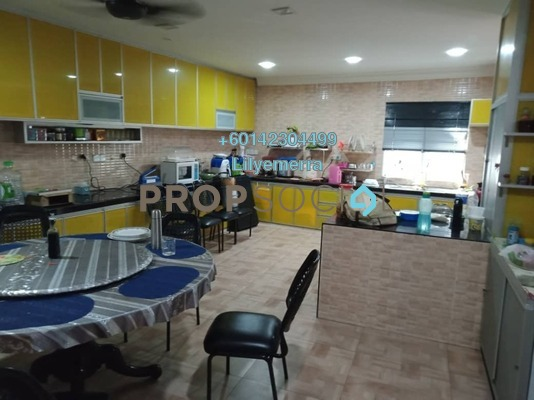 Terrace For Sale in BP3, Bandar Bukit Puchong Freehold Fully Furnished 5R/5B 750k