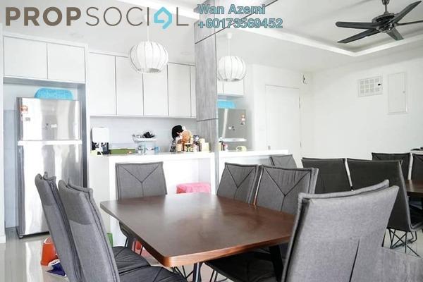 Condominium For Sale in Scenaria, Segambut Freehold Semi Furnished 3R/3B 1.2m