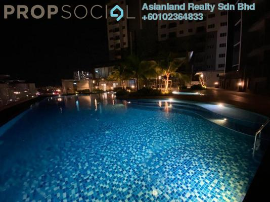 Condominium For Rent in The Herz, Kepong Freehold Semi Furnished 3R/2B 1.5k