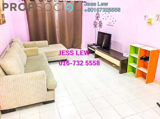 Apartment For Sale in Bandar Hilir, Melaka Leasehold Fully Furnished 3R/2B 210k