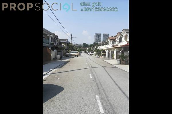 Terrace For Rent in Taman Wangsa Permai, Kepong Freehold Semi Furnished 4R/3B 1.5k