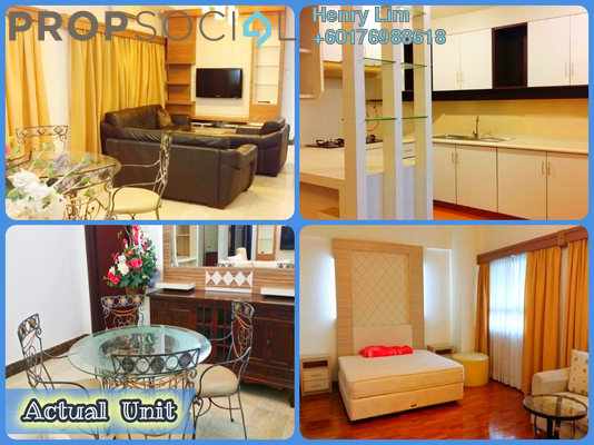 Condominium For Sale in Crown Regency, KLCC Freehold Fully Furnished 3R/3B 1.1m