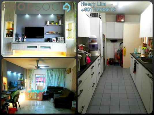 Condominium For Sale in Le Jardine, Pandan Indah Leasehold Semi Furnished 3R/2B 399k