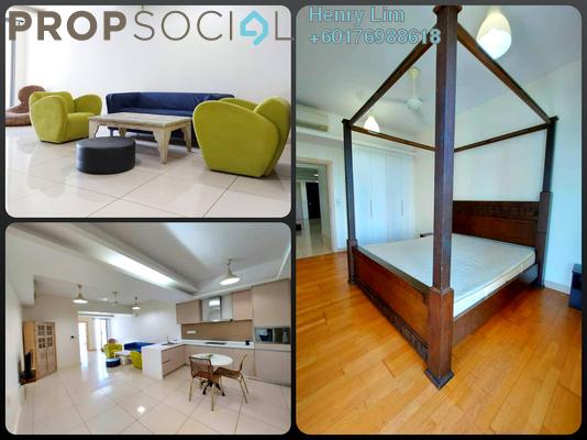 Condominium For Sale in Suasana Bukit Ceylon, Bukit Ceylon Freehold Fully Furnished 1R/1B 700k