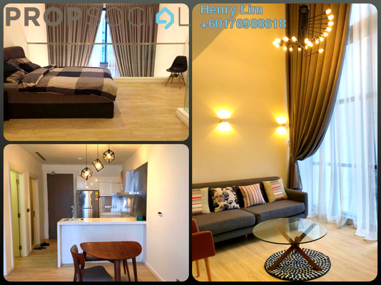 Duplex For Rent in M City, Ampang Hilir Freehold Fully Furnished 1R/2B 2.2k