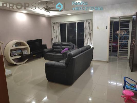 Terrace For Sale in Taman Cheras Jaya, Balakong Freehold Semi Furnished 4R/3B 550k