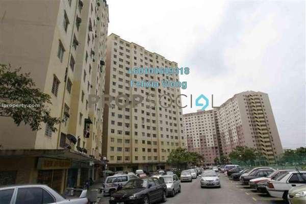 Apartment For Sale in Sri Penara, Bandar Sri Permaisuri Freehold Semi Furnished 2R/1B 198k