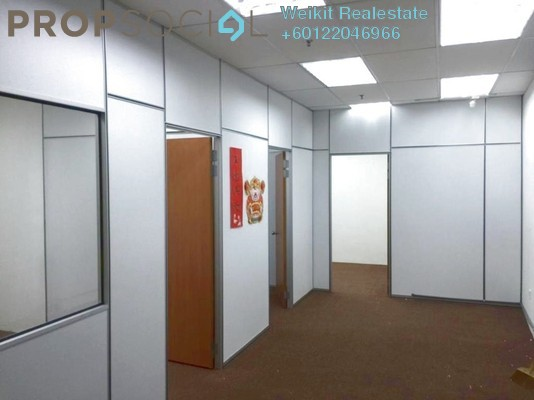Office For Rent in Sunsuria Avenue, Kota Damansara Freehold Semi Furnished 3R/1B 1.3k