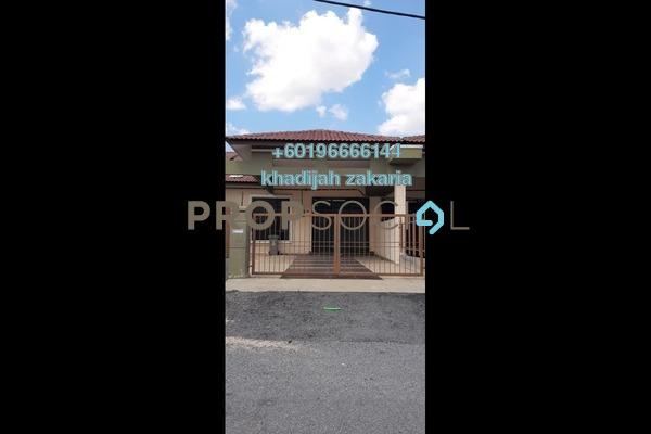 Terrace For Sale in Taman Saujana Indah, Bukit Katil Freehold Semi Furnished 4R/9B 315k