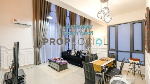 Condominium For Sale in Eclipse Residence @ Pan'gaea, Cyberjaya Freehold Fully Furnished 3R/2B 499k