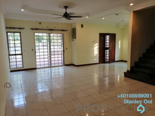 Terrace For Rent in Puteri 8, Bandar Puteri Puchong Freehold Semi Furnished 5R/4B 2.8k