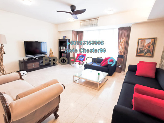 Condominium For Sale in 2 Hampshire, KLCC Freehold Fully Furnished 4R/4B 2.1m