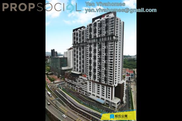 Condominium For Rent in Astetica Residences, Seri Kembangan Freehold Fully Furnished 1R/1B 580translationmissing:en.pricing.unit