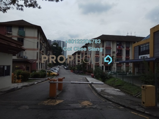 Apartment For Sale in Rampai Court, Setapak Freehold Semi Furnished 2R/1B 325k