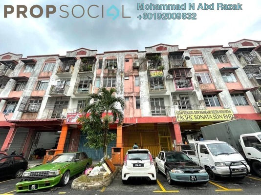 Apartment For Sale in Lestari Perdana Apartment, Bandar Putra Permai Freehold Unfurnished 3R/1B 140k