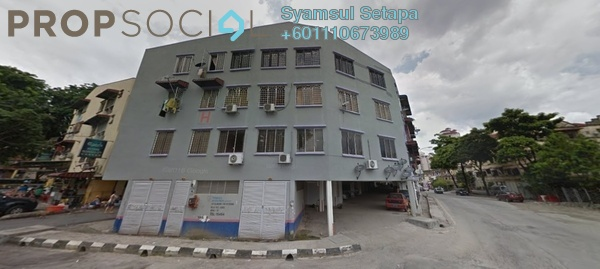 Apartment For Sale in Taman Sri Kuching, Jalan Ipoh Freehold Unfurnished 2R/2B 210k