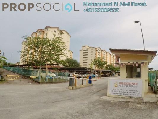 Apartment For Sale in Residensi Melor Bangi, Bandar Baru Bangi Freehold Semi Furnished 3R/2B 240k