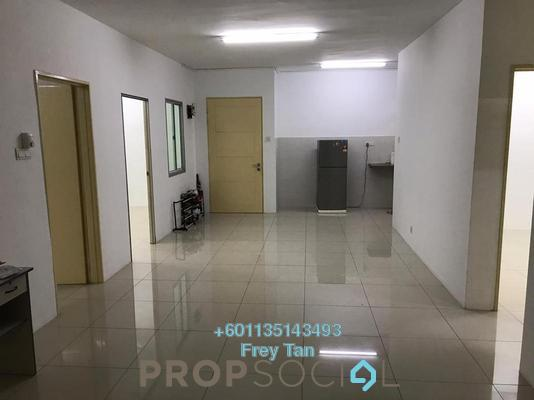 Condominium For Rent in Platinum Lake PV16, Setapak Freehold Semi Furnished 4R/2B 1.5k