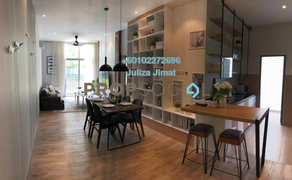 Condominium For Sale in LakeFront Homes, Cyberjaya Freehold Semi Furnished 3R/2B 396k
