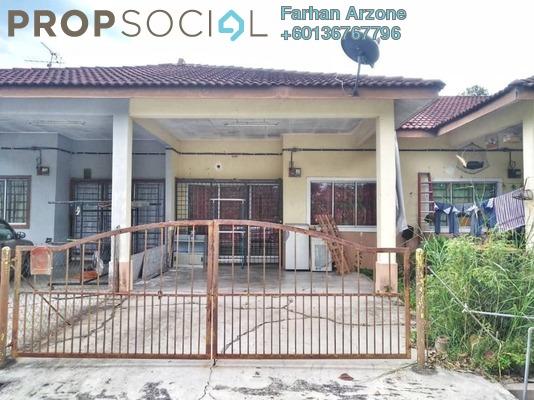 Terrace For Sale in Taman Angsamas, Mambau Freehold Semi Furnished 3R/2B 210k