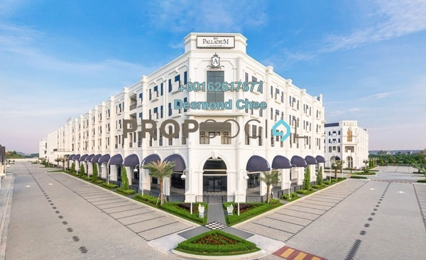 Office For Rent in Eco Palladium, Johor Bahru Freehold Fully Furnished 0R/0B 1.45k