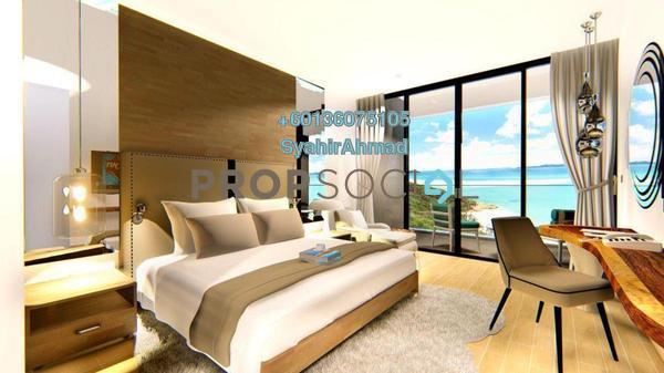 Condominium For Sale in Pantai Cenang, Kedah Freehold Fully Furnished 0R/1B 623k