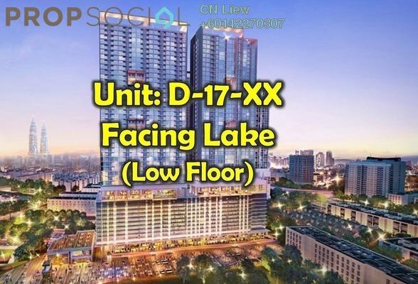 Condominium For Sale in 28 Boulevard, Pandan Perdana Freehold Fully Furnished 0R/1B 290k