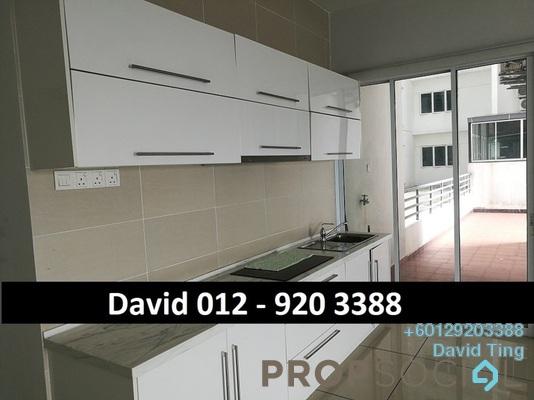Condominium For Sale in 288 Residences, Kuchai Lama Freehold Semi Furnished 3R/2B 658k