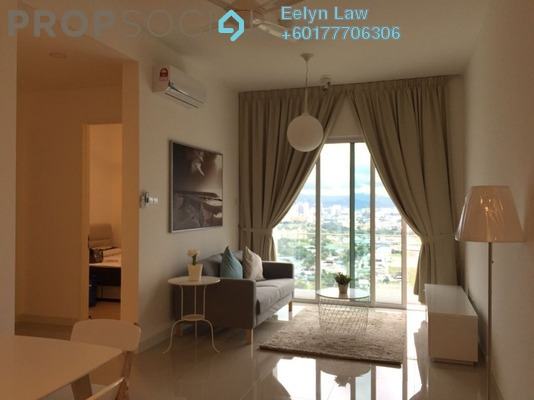 Condominium For Rent in The Z Residence, Bukit Jalil Freehold Fully Furnished 1R/2B 2k