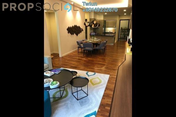 Condominium For Sale in Kaleidoscope, Setiawangsa Freehold Semi Furnished 3R/2B 598k