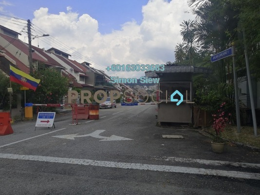 Terrace For Sale in Taman Sri Bahtera, Cheras Freehold Semi Furnished 5R/3B 1.14m