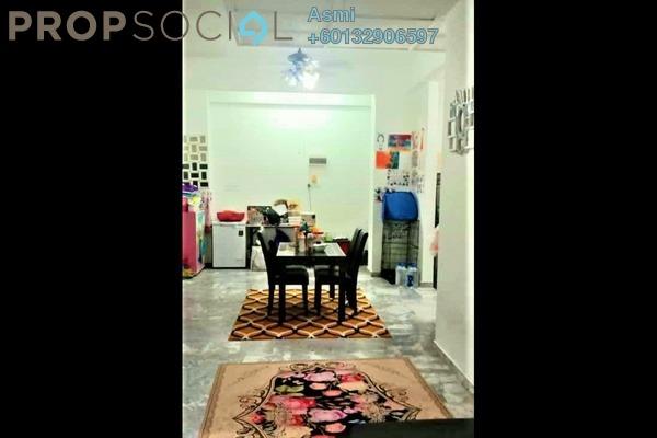 Condominium For Sale in Sri Mahligai, Shah Alam Freehold Semi Furnished 2R/2B 345k