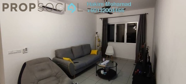 Apartment For Sale in Harmoni Apartment Eco Majestic, Beranang Freehold Fully Furnished 3R/2B 330k