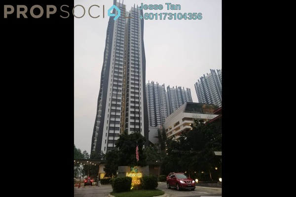 Condominium For Sale in Lakeville Residence, Jalan Ipoh Freehold Semi Furnished 3R/2B 550k