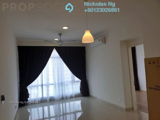 Serviced Residence For Rent in The Park Sky Residence @ Bukit Jalil City, Bukit Jalil Freehold Semi Furnished 2R/2B 2.3k