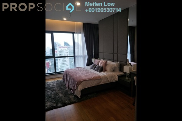 Condominium For Sale in Aria, KLCC Freehold Fully Furnished 1R/1B 1.38m