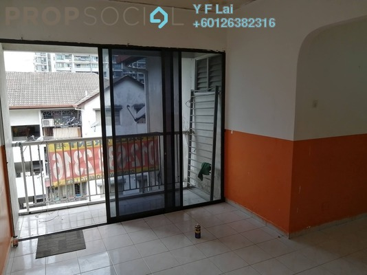 Apartment For Rent in Happy Garden Flat, Kuchai Lama Freehold Unfurnished 3R/1B 800translationmissing:en.pricing.unit