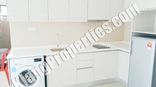 Serviced Residence For Sale in i-City, Shah Alam Freehold Semi Furnished 2R/2B 580k