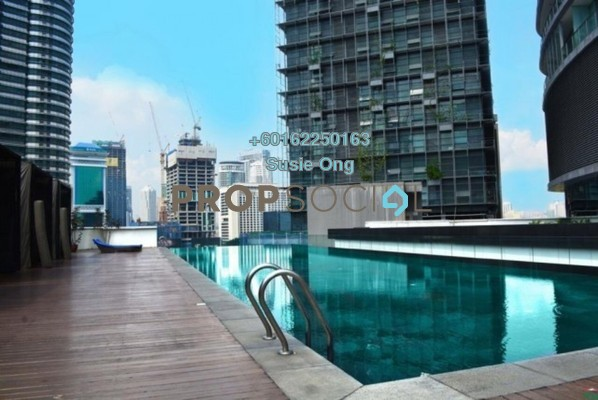 Condominium For Sale in K Residence, KLCC Freehold Semi Furnished 3R/5B 4.4m