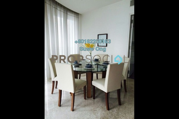 Condominium For Rent in K Residence, KLCC Freehold Fully Furnished 3R/5B 8k