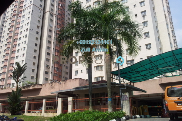 Apartment For Sale in Melur Apartment, Sentul Freehold Unfurnished 3R/2B 399k