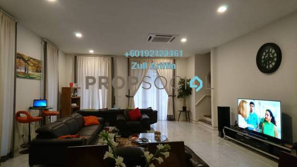 Semi-Detached For Sale in Villa Serene Kiara, Mont Kiara Freehold Semi Furnished 6R/6B 3.8m